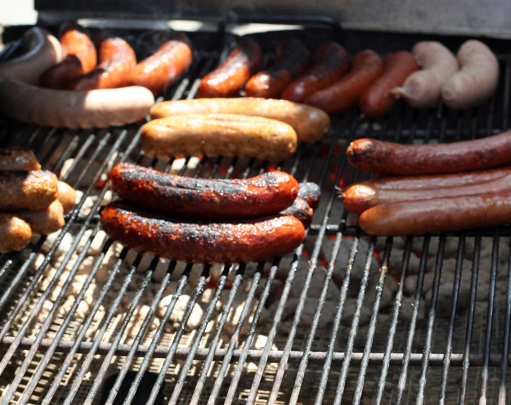 Try an English Sausage for Barbeques or Breakfast